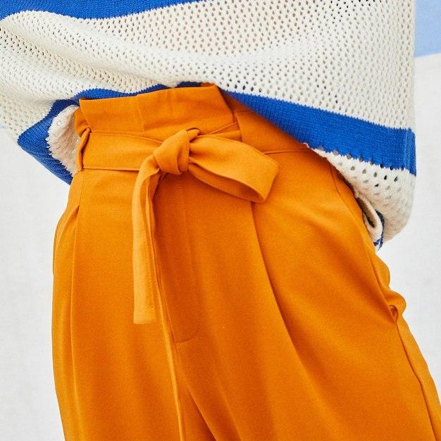 Yellow Women's Pants