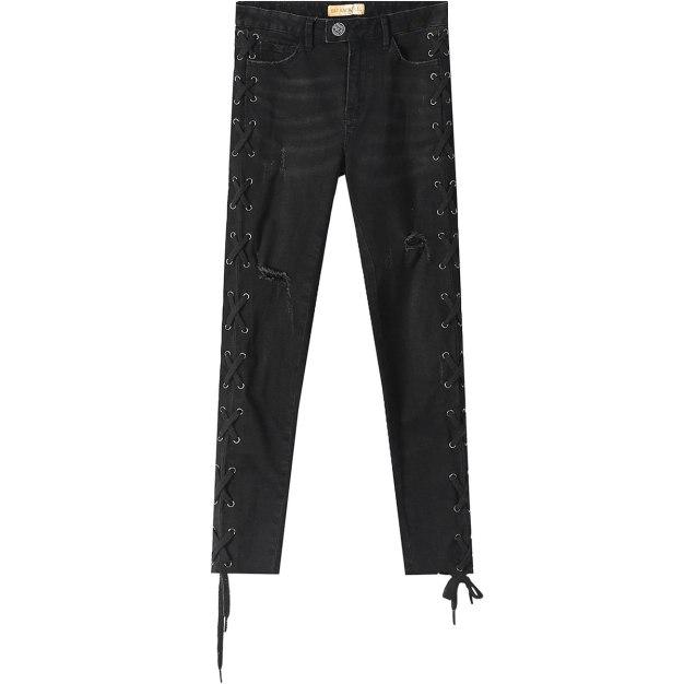 Bandage Women's Jeans