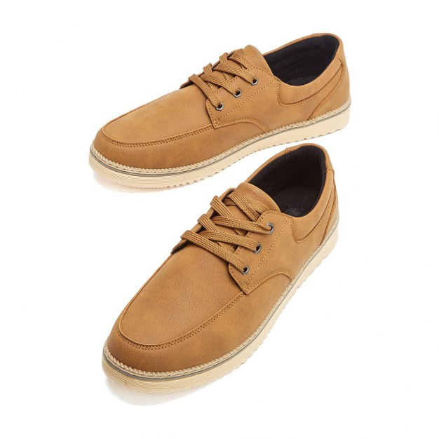 Brown Round Head Men's Outdoor Causal Shoes
