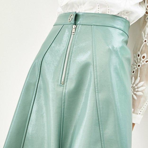 High Waist Women's A Line Skirt