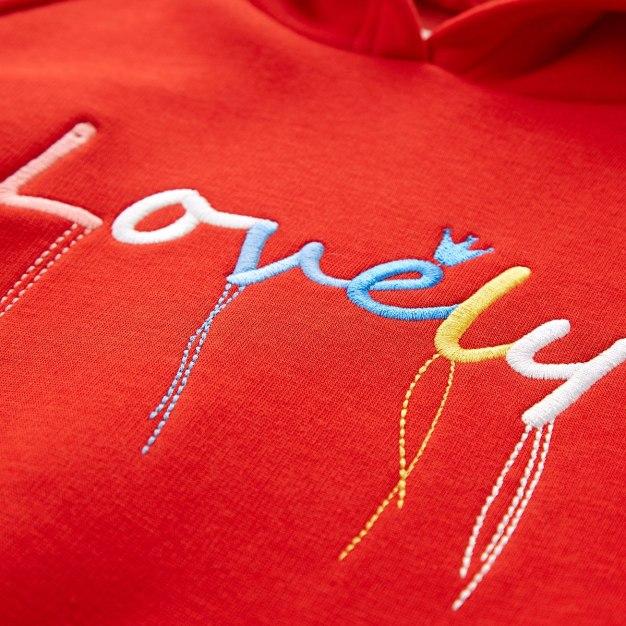 Red Girls' Sweatshirt