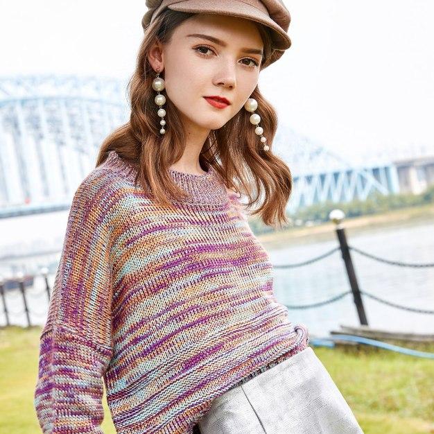 Purple Women's Knitwear