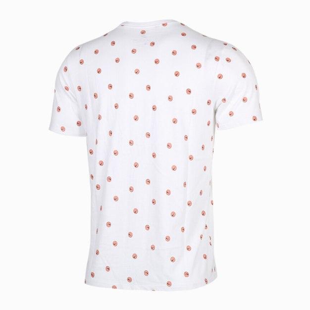 화이트 남성 티셔츠
