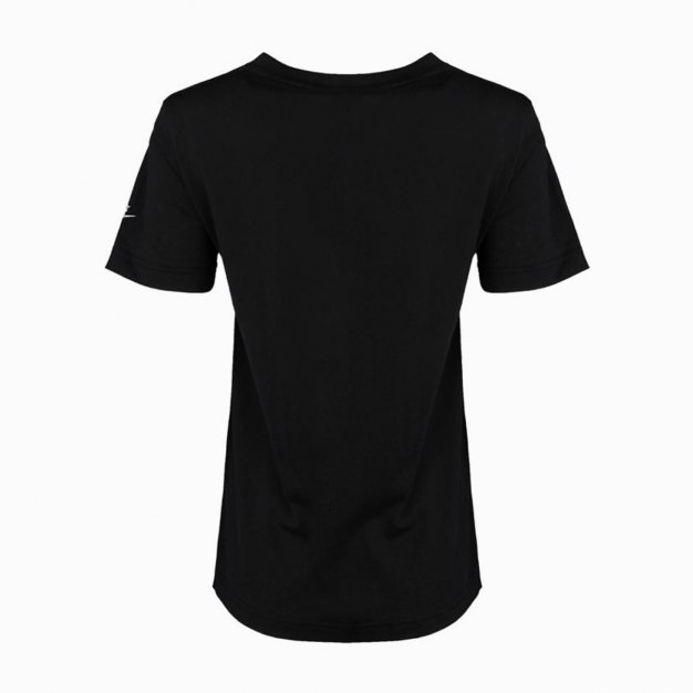 Black Short Sleeve Quick Drying Standard Women's T-Shirt