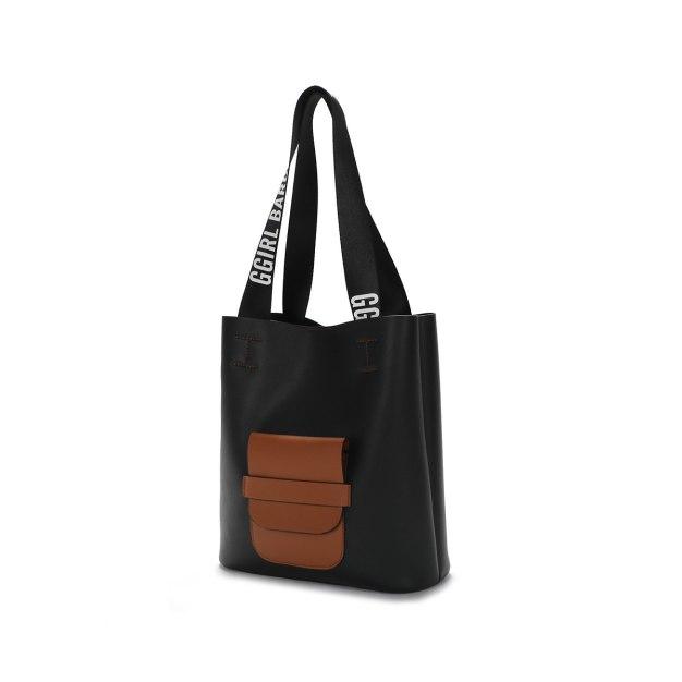 Pvc 2 Pieces Bag Big Women's Shoulder Bag