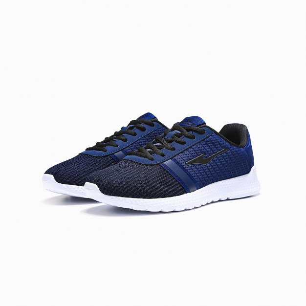 Blue Wear-Resistant Outdoor Men's Sneakers