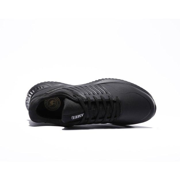 Black Shock-Absorbing Men's Casual Shoes