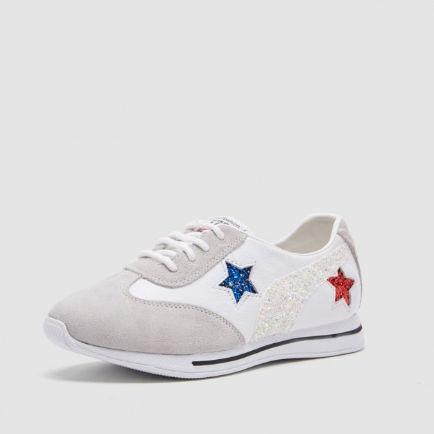 White Round Head Women's Casual Shoes