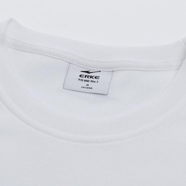 White Warm Fitted Men's Sweatshirt