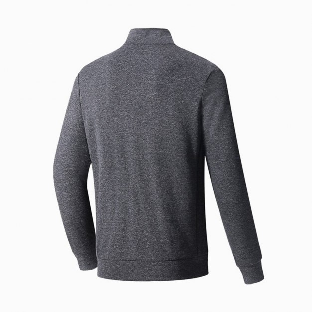 Stand Collar Long Sleeve Fitted Anti-Pilling Men's Outerwear