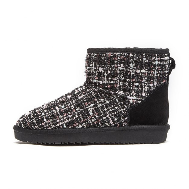 Colourful High Top Round Head Low Heel Women's Snow Boots