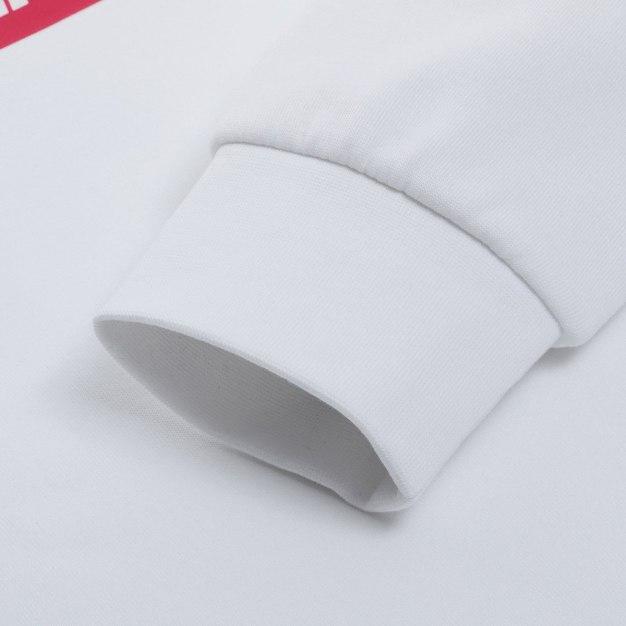 White Anti-Bacteria & Anti-Wrinkle Fitted Men's Sweatshirt