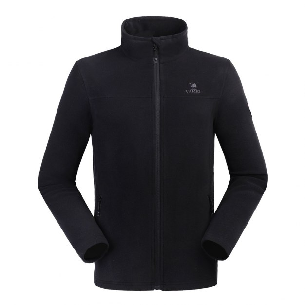 Black Warm Men's Outerwear