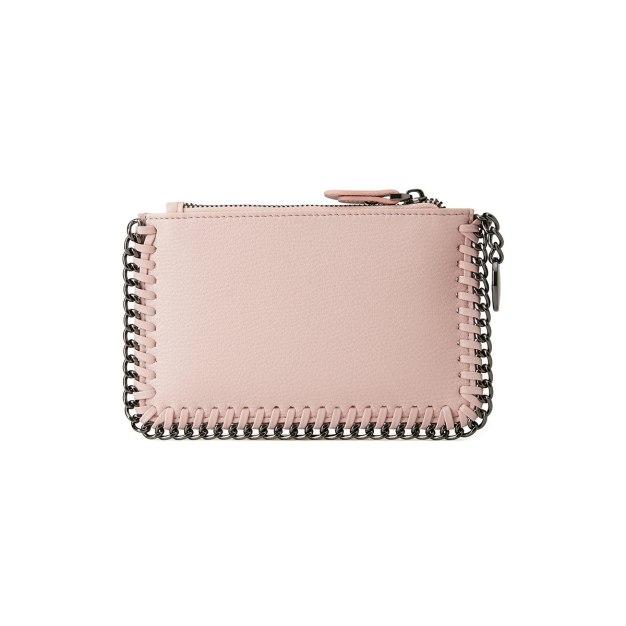 Pink Plain PU Purse(Short) Mini Women's Wallet