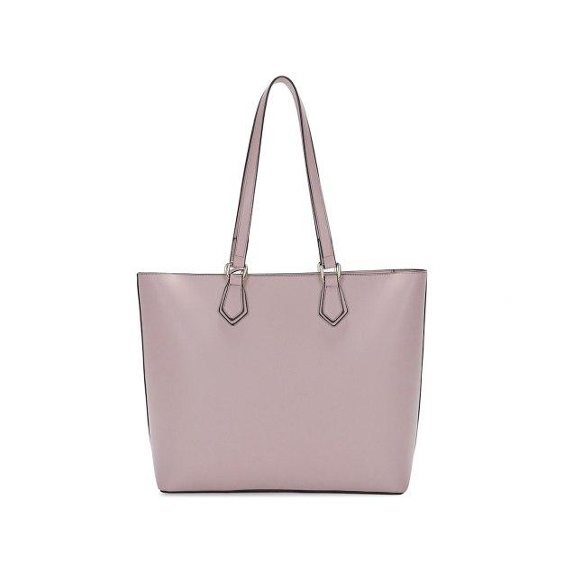 Purple Plain Pvc 2 Pieces Bag Big Women's Shoulder Bag