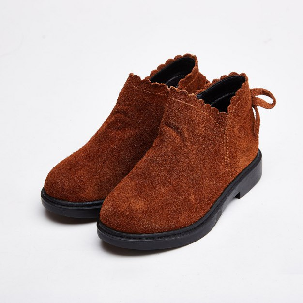 Brown Girls' Boots