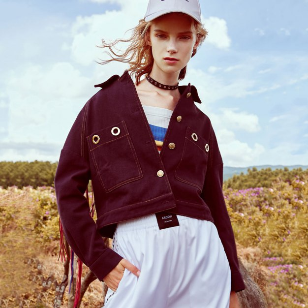 Purple Plain Lapel Long Sleeve Women's Outerwear