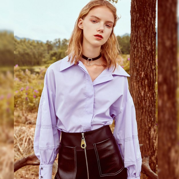 Purple Women's Shirt