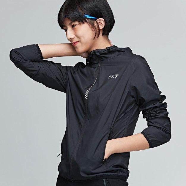 Black Long Sleeve Fitted Warm Women's Outerwear