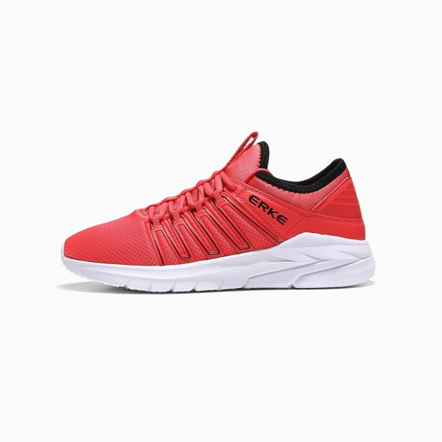 Red Wear-Resistant Running Women's Sneakers