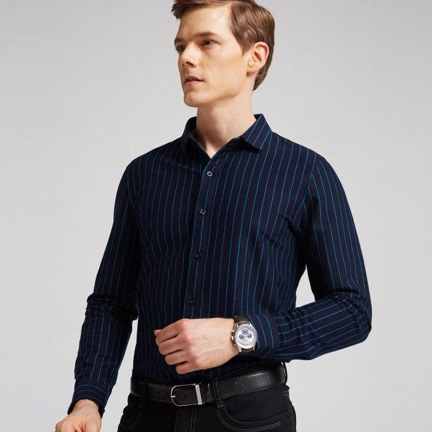 Stripes Long Sleeve Standard Men's T-Shirt