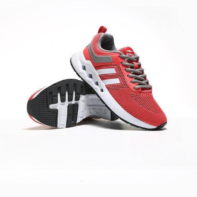 Red Wear-Resistant Running Women's Sneakers