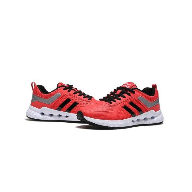 Red Anti Skidding Running Women's Sneakers