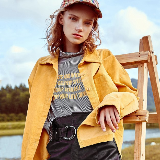 Yellow Women's Outerwear