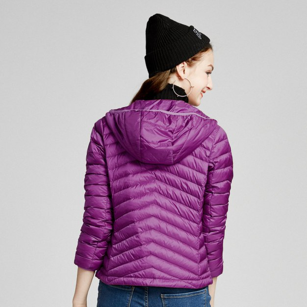 Lapel Warm Women's Down Jacket