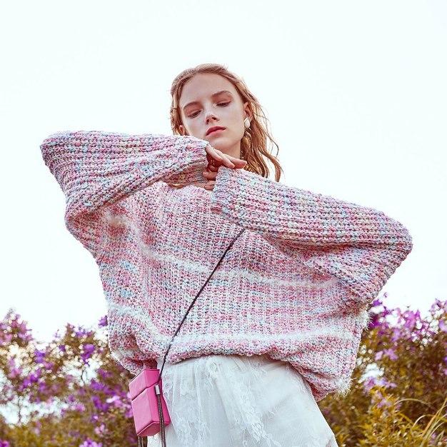 Pink Women's Sweater