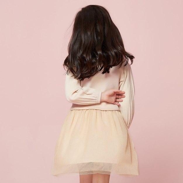 Apricot Girls' Dress