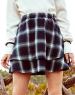 Blue High Waist Women's Skirt