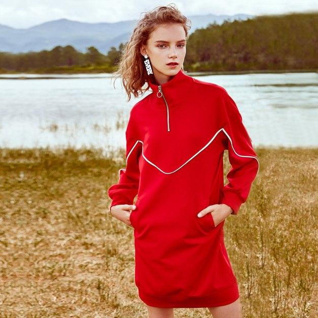 Red Women's Dress