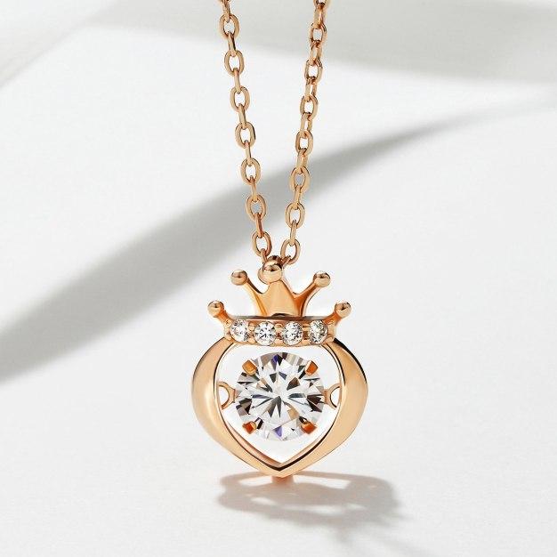 Rose Gold Sweetheart Pendant