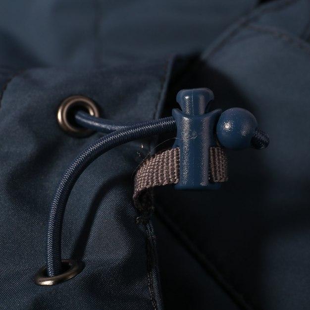 Blue Warm Men's Outerwear