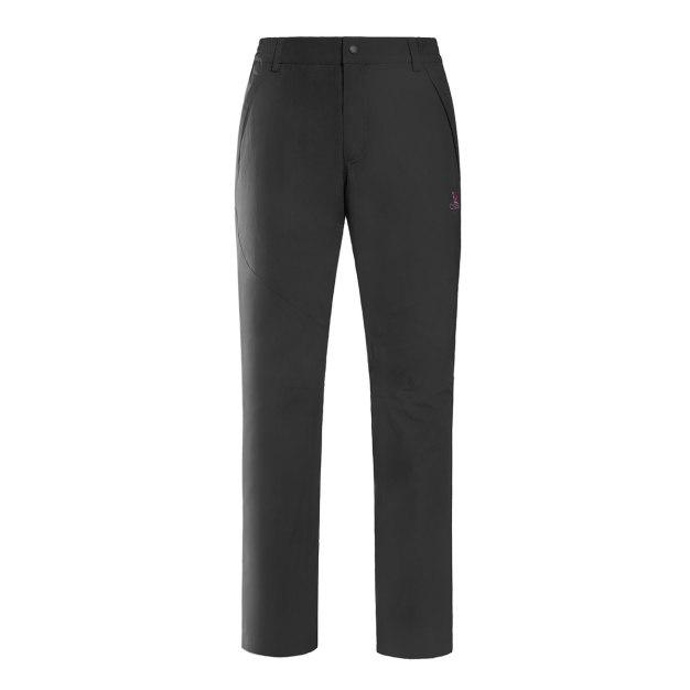 Black Windbreak Women's Pants