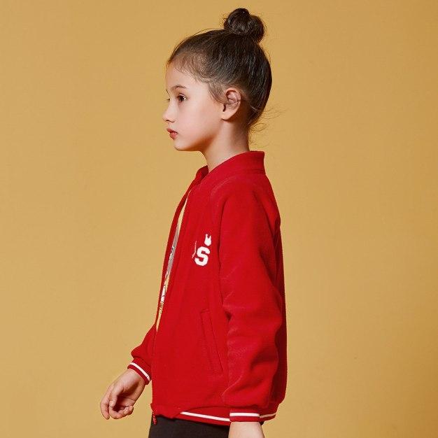 Red Girls' Outerwear