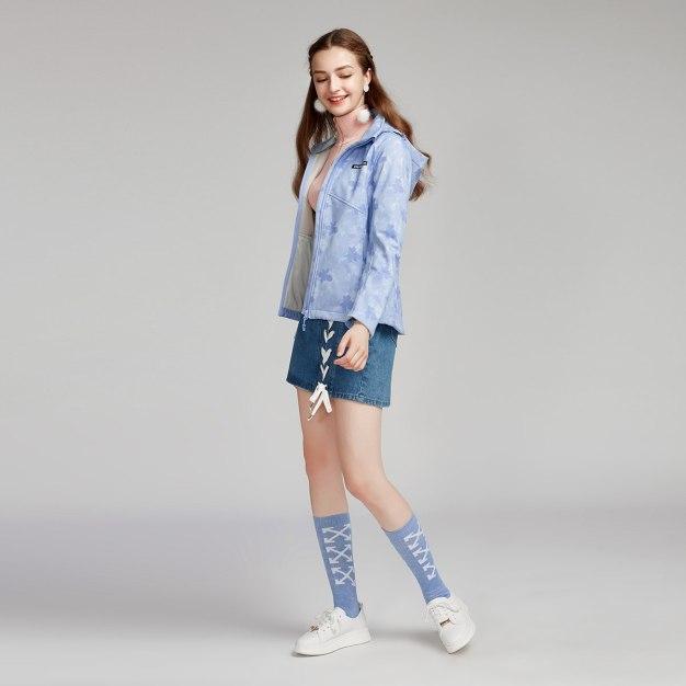 Lapel Women's Outerwear