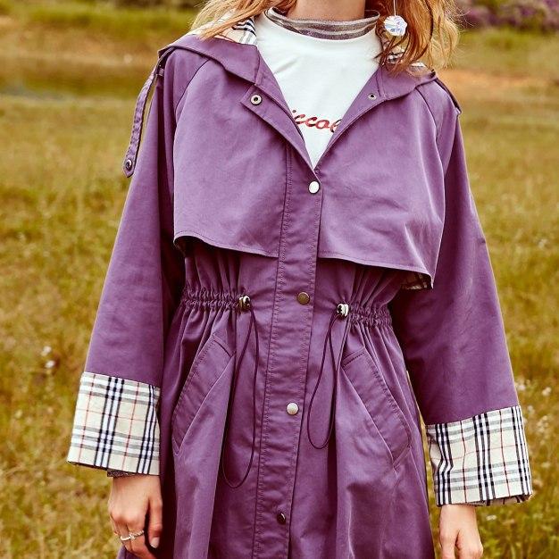 Purple Women's Outerwear