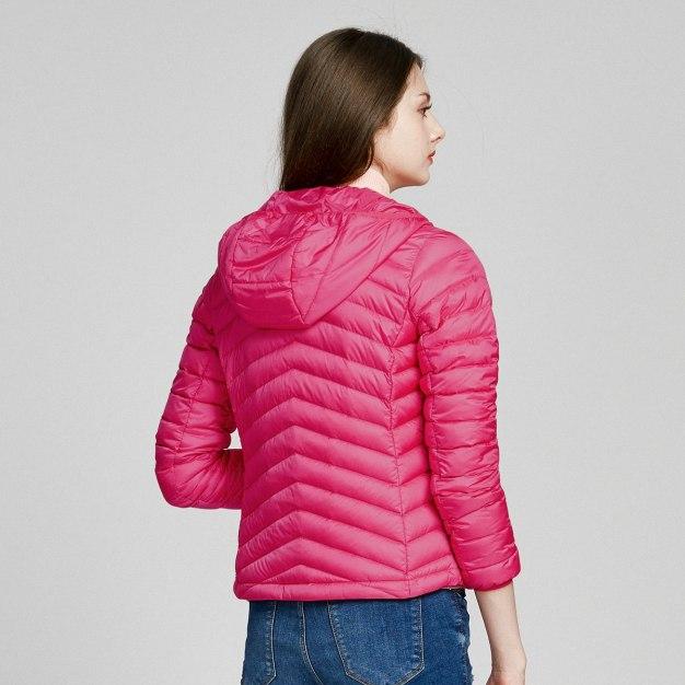 Lapel Warm Women's Down Jacket