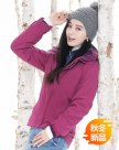 Red Lapel Warm Women's Outerwear