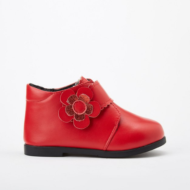 Red Girls' Boots