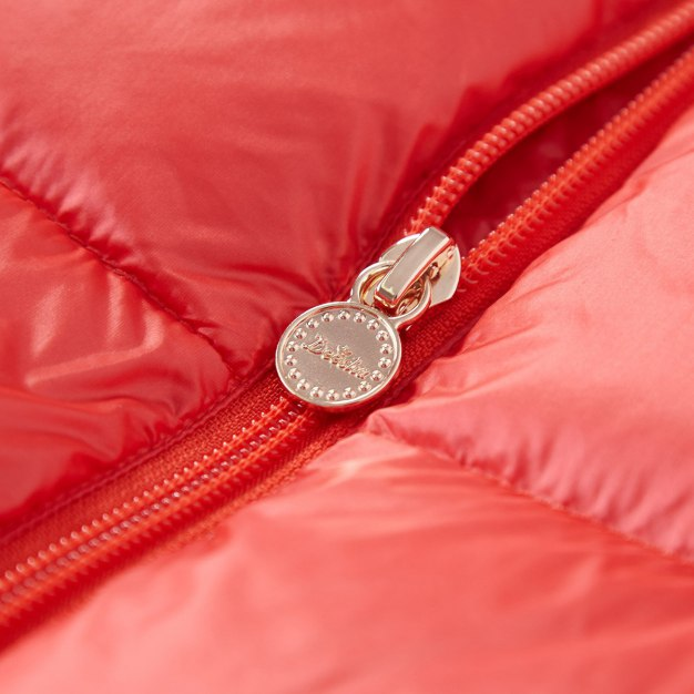 Red Girls' Down Jacket