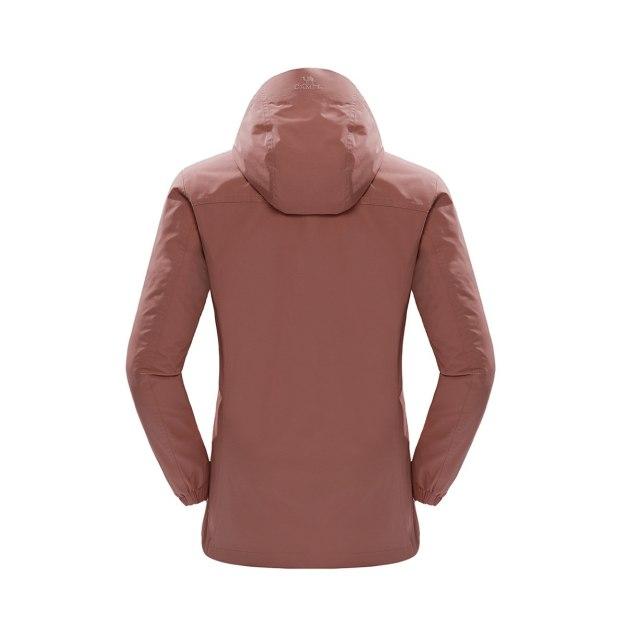 Lapel Waterproof Women's Outerwear