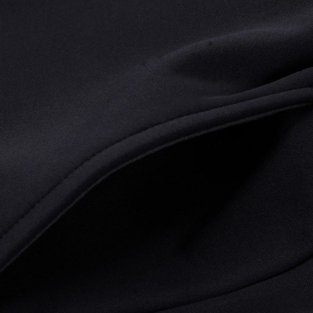 Black Long Warm Men's Pants