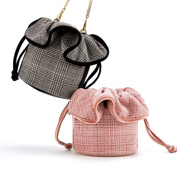 Pink Small Women's Shoulder Bag