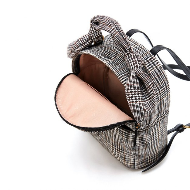 Black Medium Women's Backpack