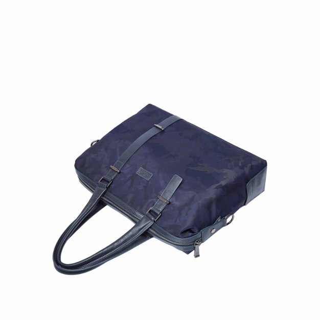 Plain Cowhide Leather Medium Men's Shoulder Bag