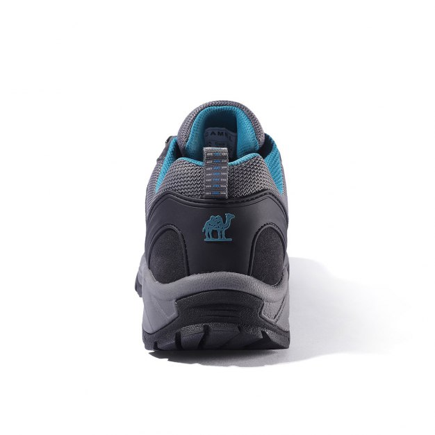 Gray Wear-Resistant Outdoor Men's Hiking Shoes