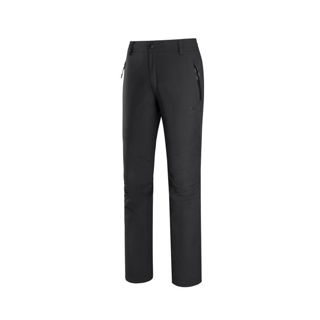 Black Windbreak Women's Pants